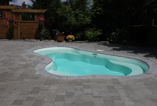 Crystal Springs with paver decking