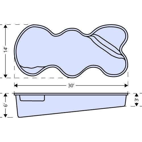 Desert Falls dimensions