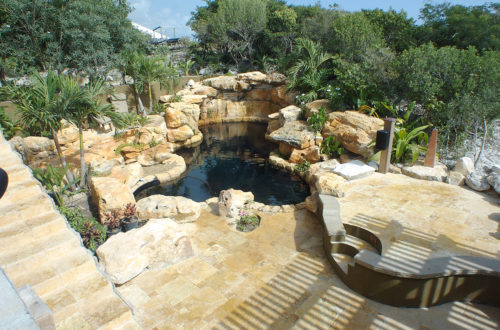 Desert Springs with grotto