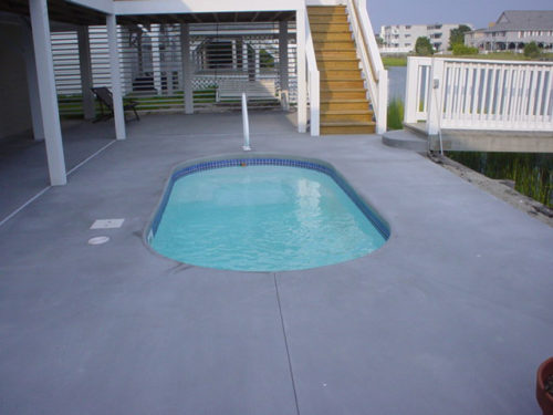 Fort Meyers with concrete deck