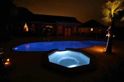 Grande Spa at night