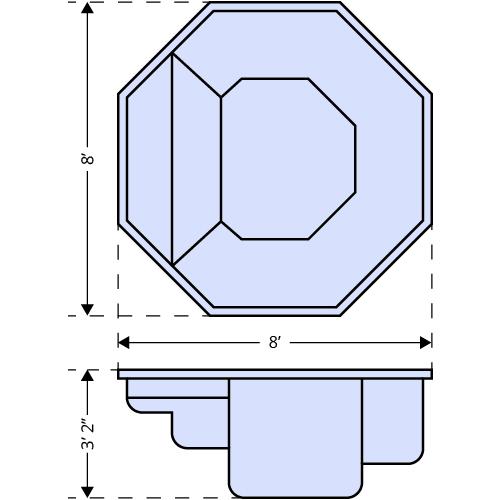 Grande Spa dimensions